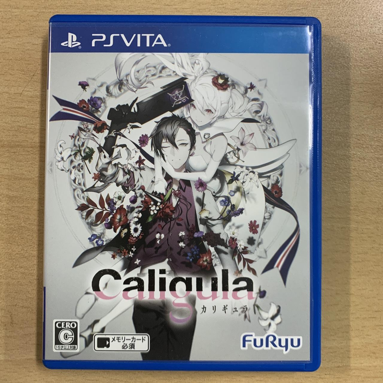 【飛力屋】現貨不必等 可刷卡 日文版 PSV 卡里古拉 Caligula PS VITA