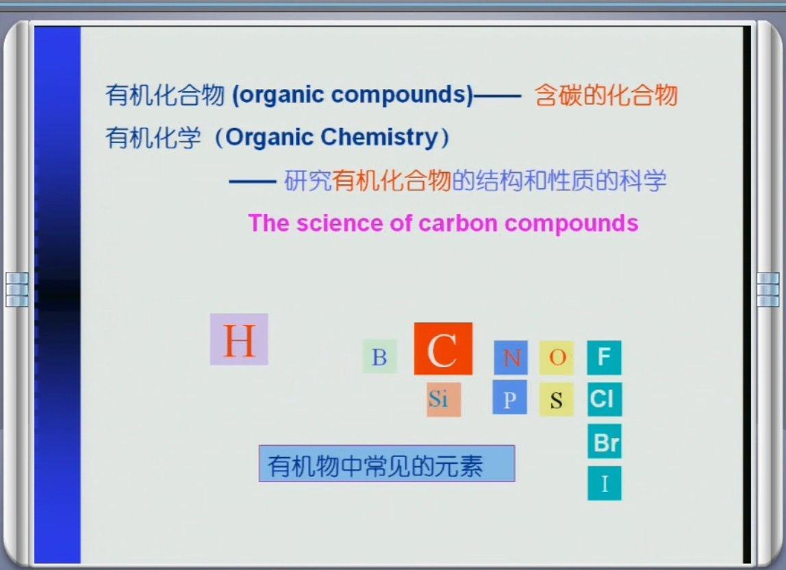 【9420-5104】有機化學 教學影片-( 54 堂課 上海復旦大學 ) 420 元!