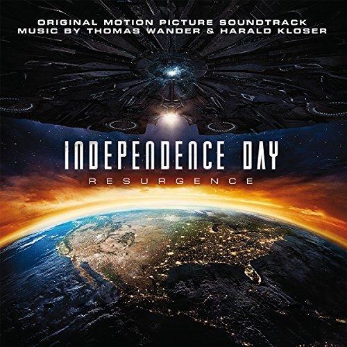【 】【黑膠唱片LP】ID4星際重生-電影原聲帶 哈洛德克洛瑟  湯瑪士汪德---MOVATM121