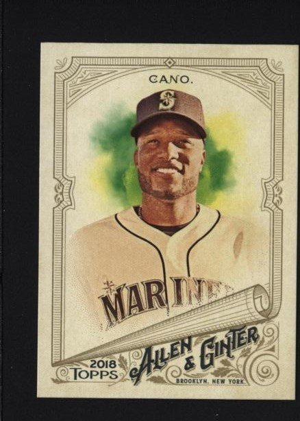 2018 Topps Allen and Ginter #35 Robinson Cano  水手