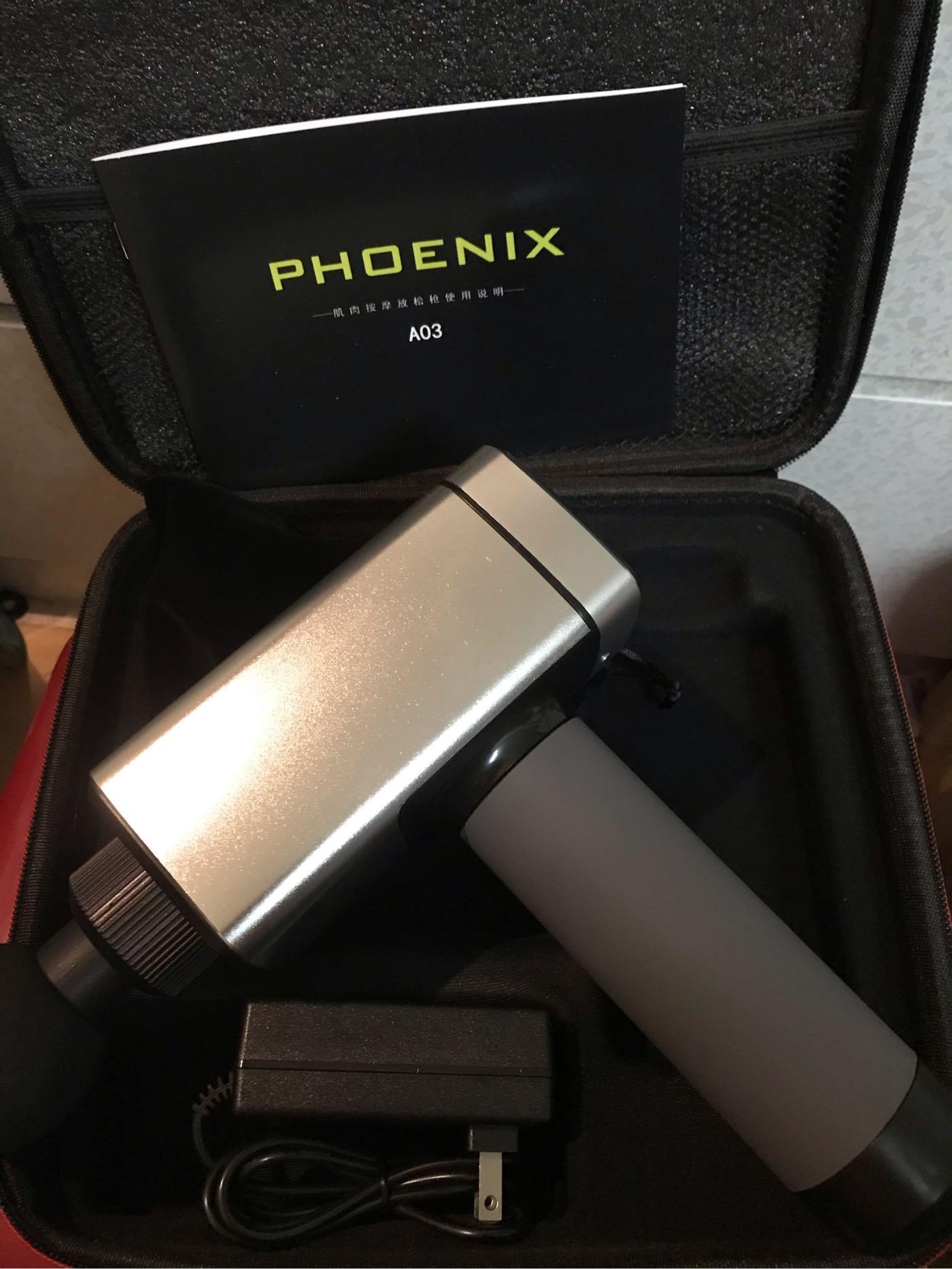 ⭐️台灣快速出貨?⭐!(最新6頭版)Phoenix A3按摩槍筋膜槍_booster hypervolt