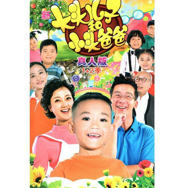 喜劇電視劇新大頭兒子和小頭爸爸1+2部真人版DVD碟片光盤王浩宇 精美盒裝