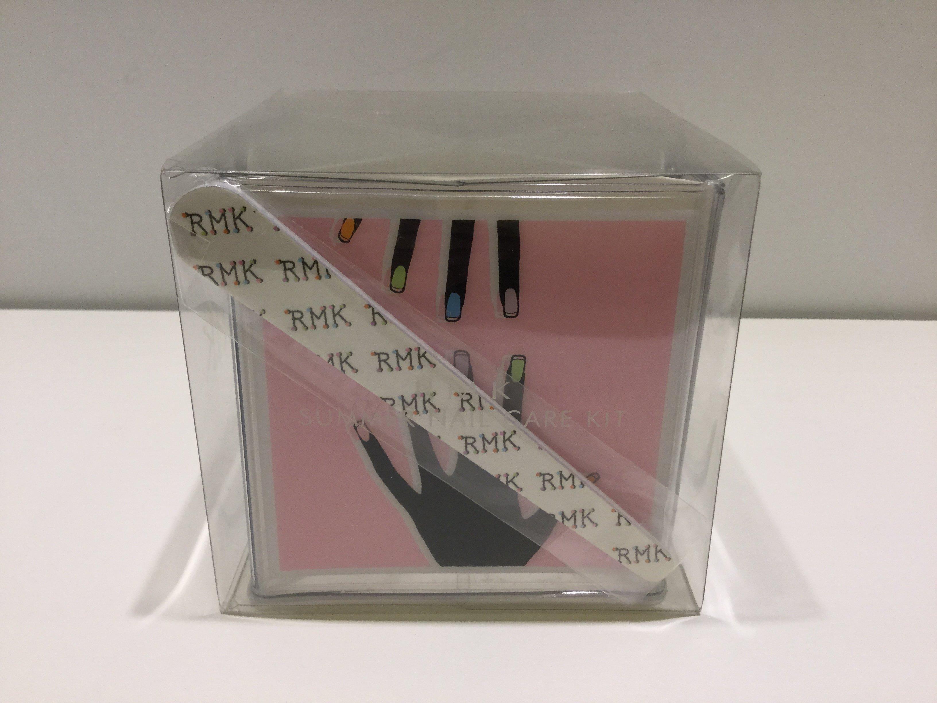 RMK 繽紛指彩收納2件組 含:磨甲棒 指甲油收納盒