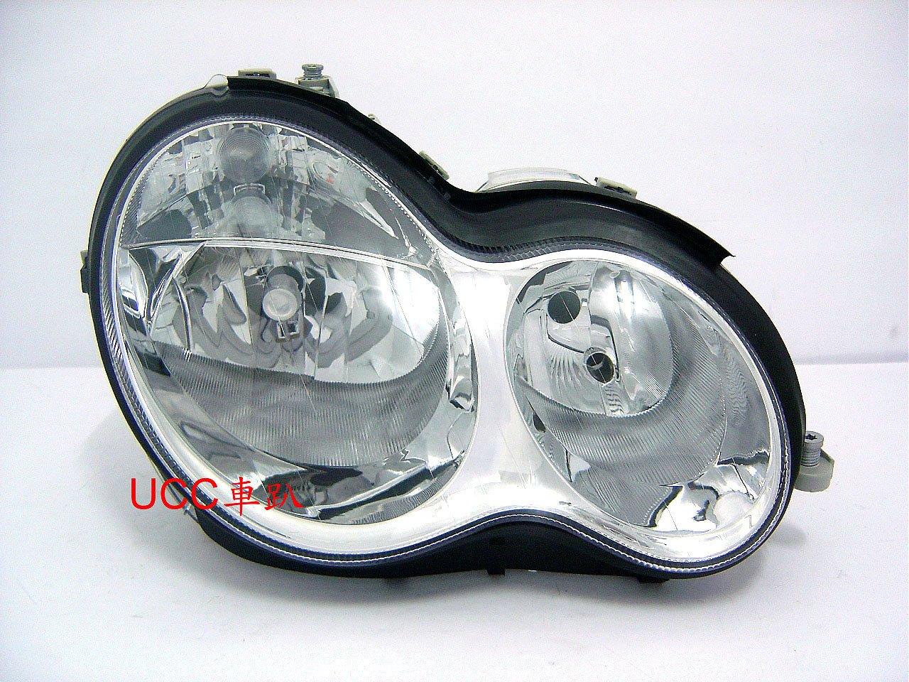 【UCC車趴】BENZ 賓士 W203 01 02 03 04-06 07 原廠型 晶鑽大燈 (TYC製)一邊3500