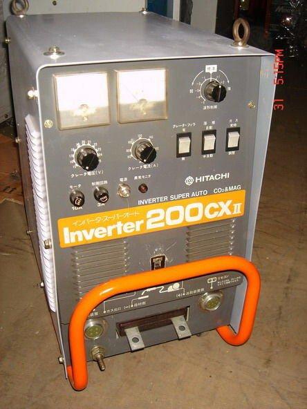 {中古焊接設備維修買賣出租} 日立HITACHI-CX2-200ACO2焊機~溶接機~氬焊機~電焊機