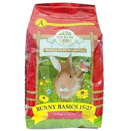 【🐱🐶培菓寵物48H出貨🐰🐹】OXBOW》活力兔配方飼料2.25kg 2種配方 特價285元(自取不打折)