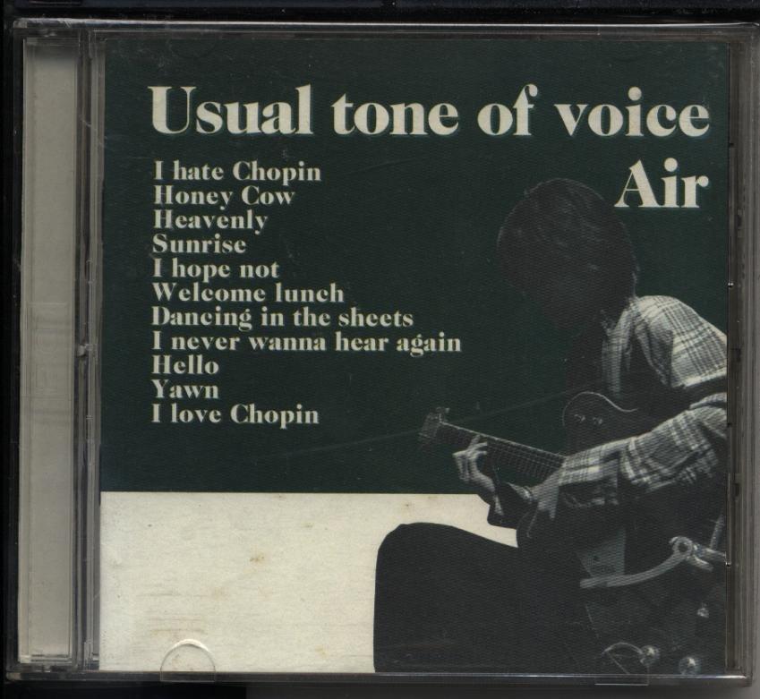 Air 車谷浩司 Usual Tone Of Voice 初回2CD580800003084  再生工場 02