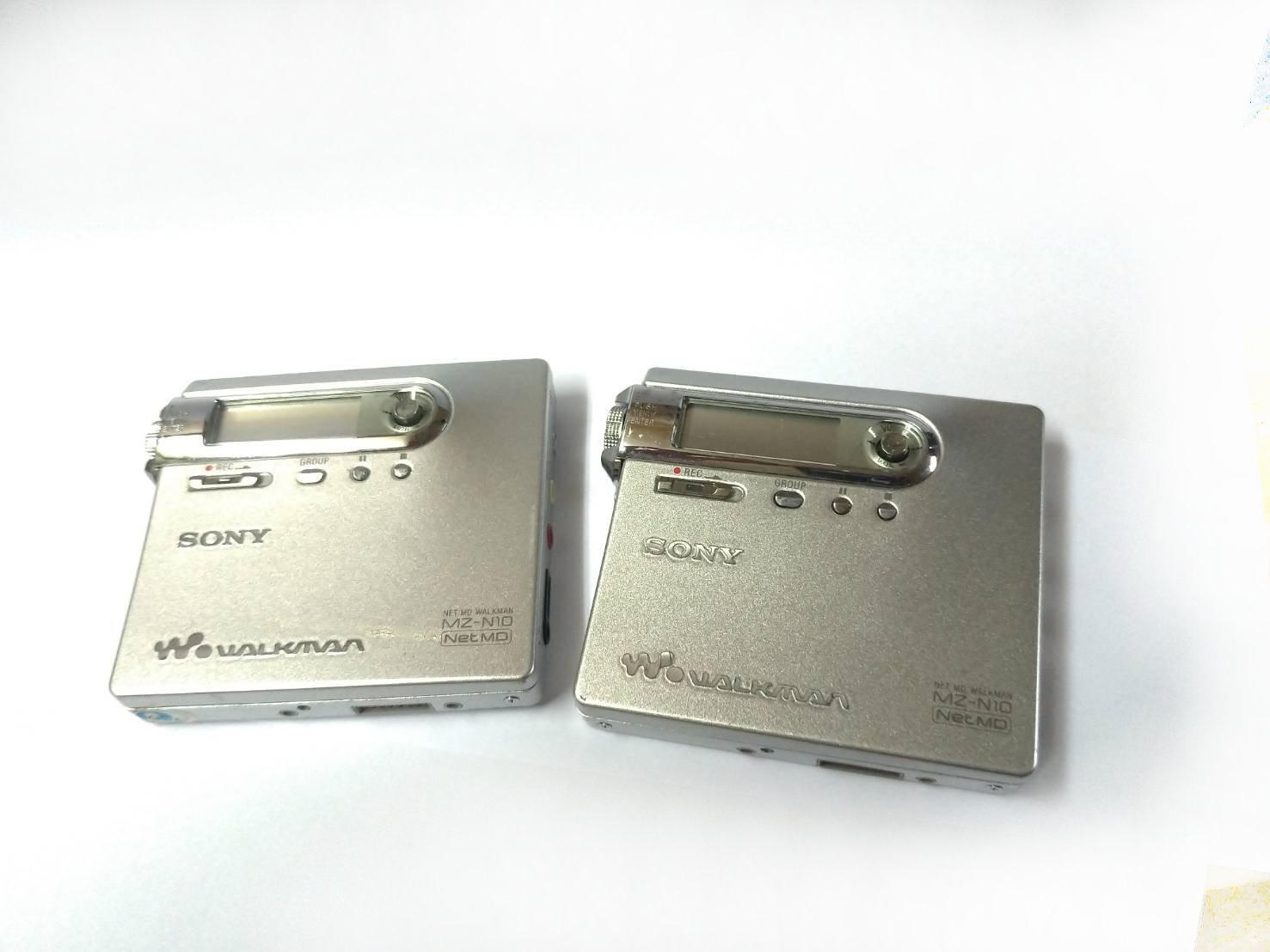 ☆手機寶藏點☆  SONY MZ-N10 MD 錄放隨身聽 錄放機 錄音筆 密錄 CD撥放 錄音(得標1台)