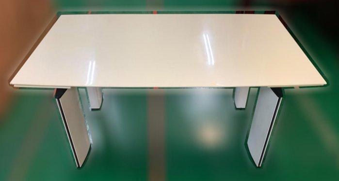 樂居二手家具(中)台中西屯二手傢俱買賣推薦E120707*大理石餐桌*2手桌椅拍賣 會議桌椅 戶外休閒桌椅 課桌椅