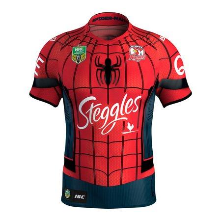 漫無止境weej 201718新款悉尼公雞橄欖球衣SYDNEY ROOSTERS MENS NINES JERSEY