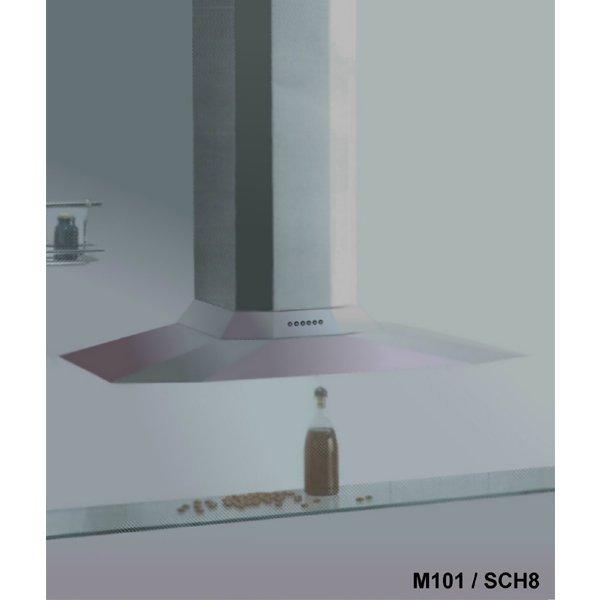 【路德廚衛】義大利SIRIUS M101 SCH 8 不鏽鋼超薄流線型掛壁式抽油煙機 四段風量變化 來電 !