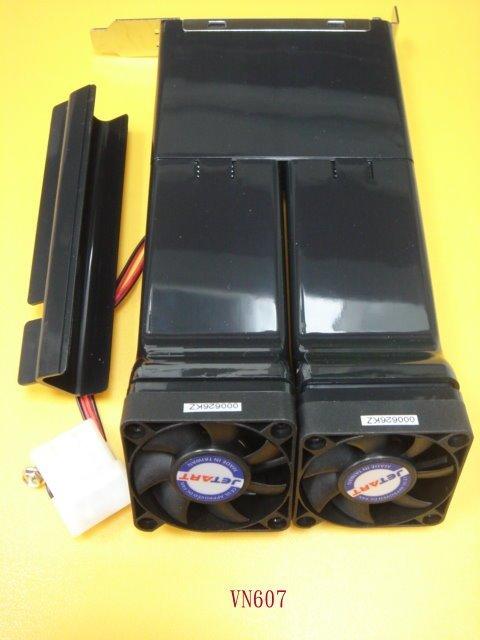 【全冠】急凍王JETART PCI街口散熱風扇PC VENT2 SV1系統散熱器~《VN607》