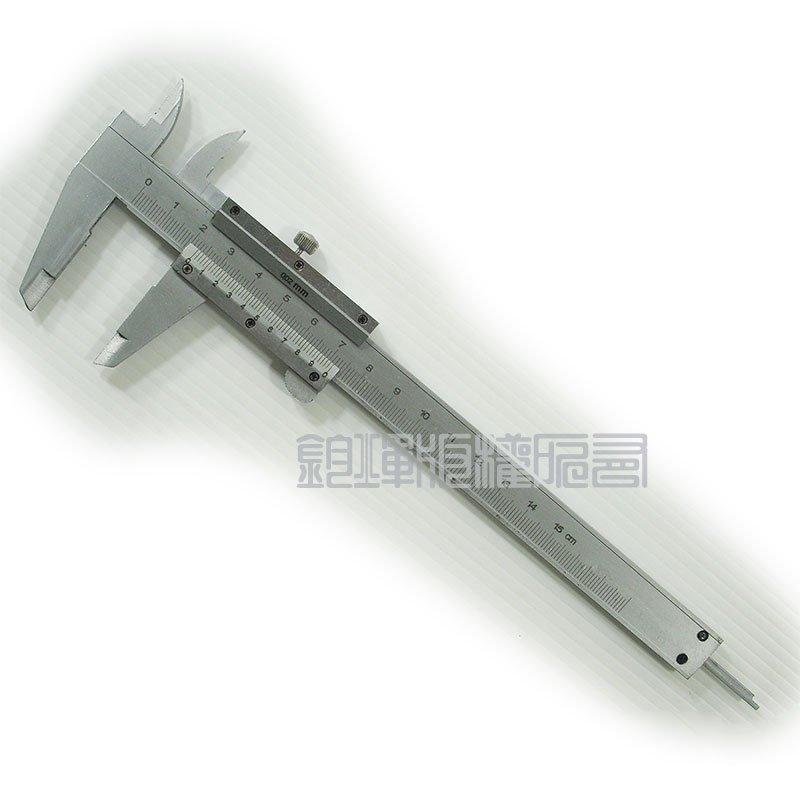 游標卡尺 0 ~150mm  硬質不鏽鋼製  附防震收納盒 遊標卡尺*12589*