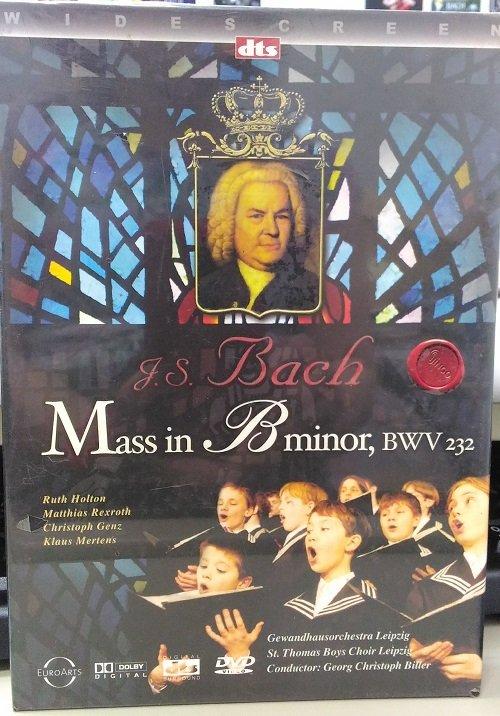 正版DVD金革《巴哈 B小調彌撒》/J.S Bach:MASS IN B MINOR全新未拆