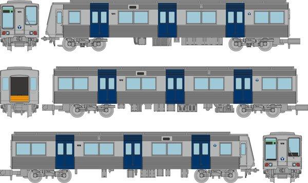 [玩具共和國] 4543736315704 横浜市営地下鉄1000形(非冷房車)3両セット