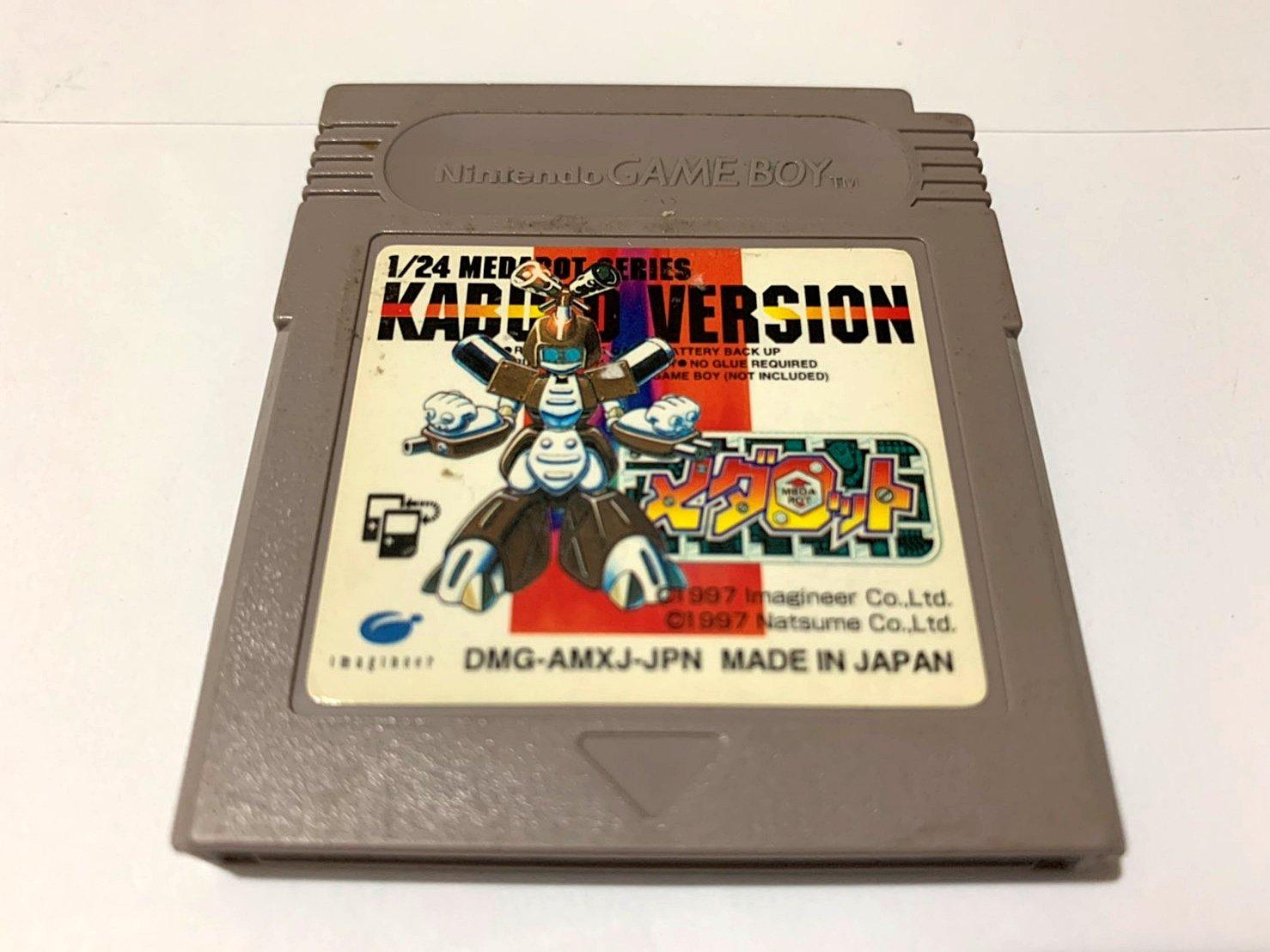 幸運小兔 GB遊戲 GB 徽章戰士  獨角仙 金屬機器人 任天堂 GameBoy GBC、GBA 適用 F7