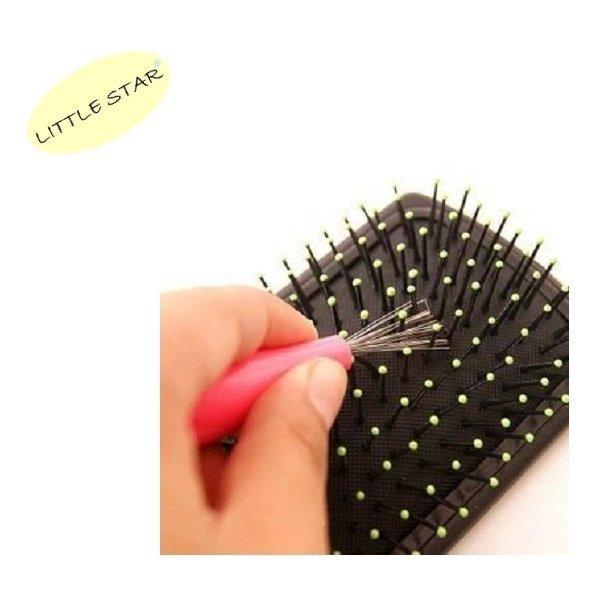 LITTLE STAR 小新星【梳子清潔刷】超級耐用梳子清潔好朋友 寵物梳清潔