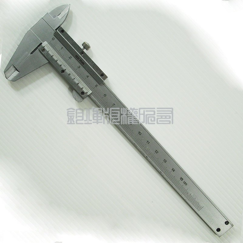 游標卡尺 0~150mm  硬質不鏽鋼製  附防震收納盒 遊標卡尺*12587*