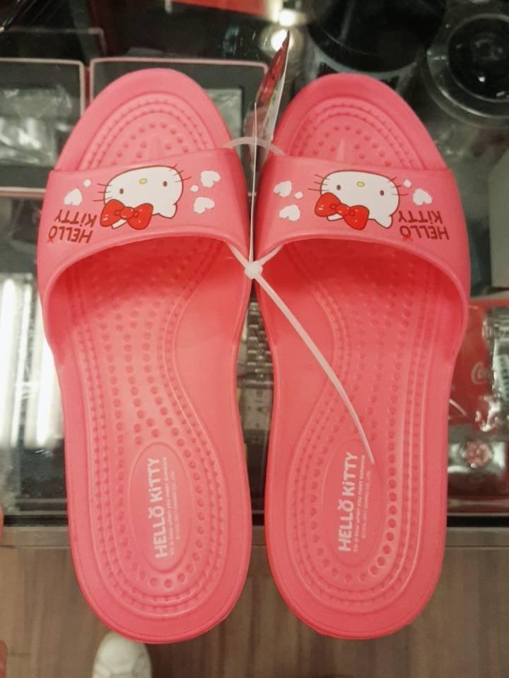 GIFT41 4165本通 板橋店 凱蒂貓 EVA 輕量拖 粉 紅 二色 可選