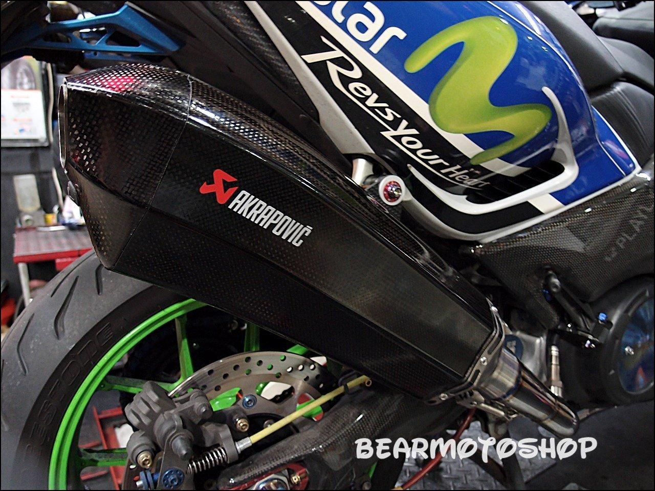 【貝爾摩托車精品店】AKRAPOVIC 蠍子 TMAX 530 卡夢異形管 異形蠍 單尾段 排氣管 含原廠消音塞 異型蠍