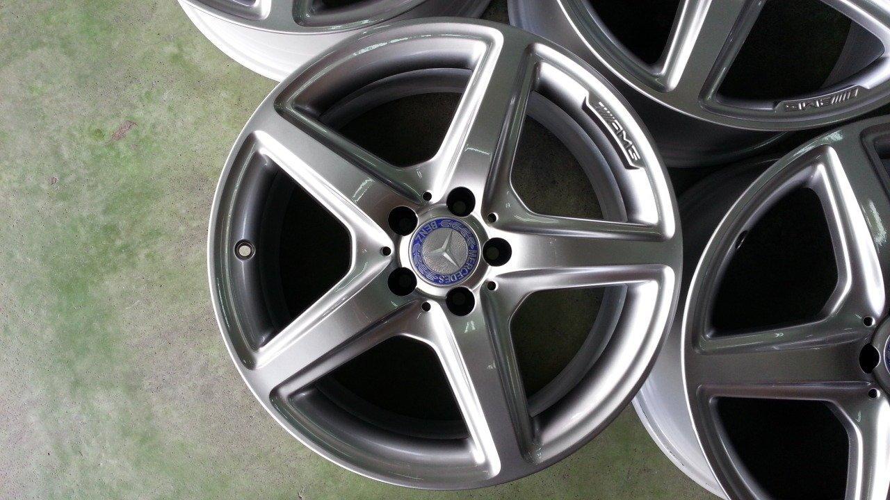 18吋BENZ AMG原廠鋁圈含新胎~W209.W210.W211.W222.W219.V250d.GLC.CLS.SL