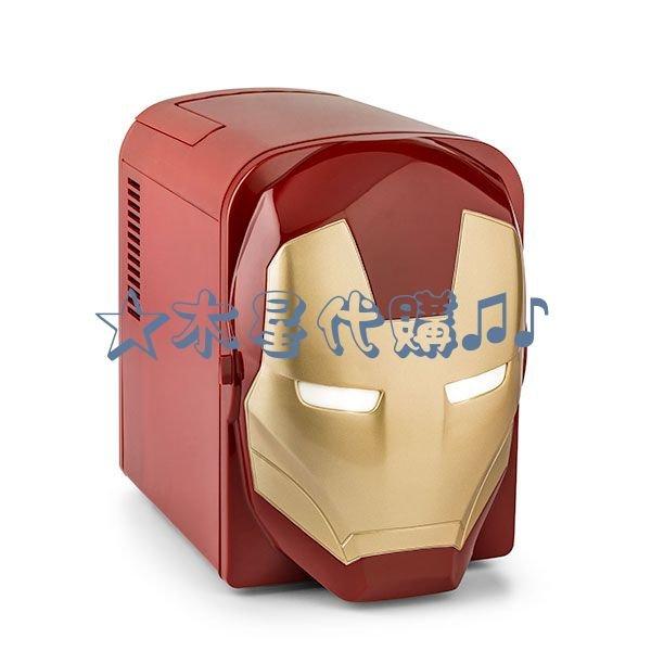 【木星代購】《美國代購 Iron man 鋼鐵人 mini 4L 行動小冰箱 預購》漫威迷你戶外露營郊外復仇者聯盟車用