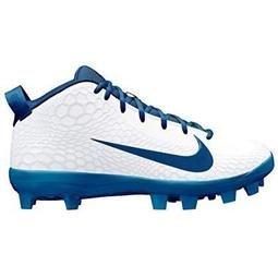 NIKE FORCE TROUT 5 新款 壘球鞋 AJ9253-141 白銀藍配色