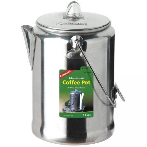 大營家購物網~Coghlans #1346 鋁合金咖啡壺 9杯 Aluminum Coffee Pot 9 Cup