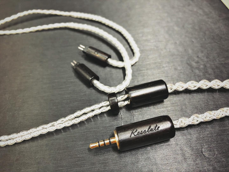 《小眾數位》NEOCO Resolute 耳機升級線 銀鍍鈀金 CM/MMCX 另有 OC 漢聲 RSD