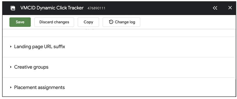 dynamic click tracker