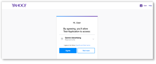 Allow application access