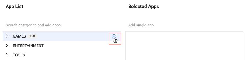 select-app-category