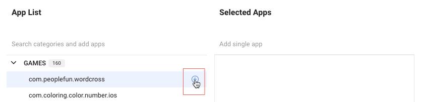select-individual-app