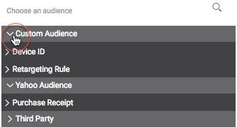 choose-a-seed-audience-drop-down-list