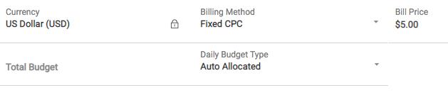 Fixed-CPC Billing