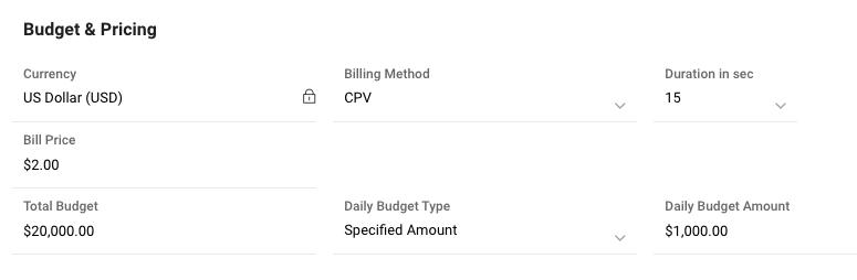 CPV Billing