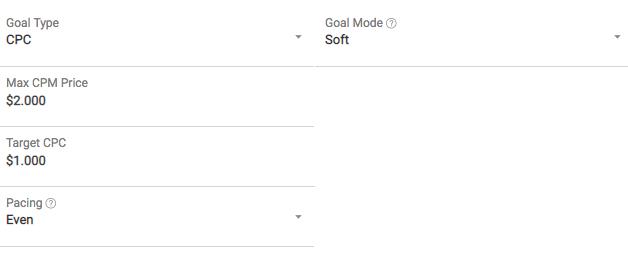 optimized CPC goal