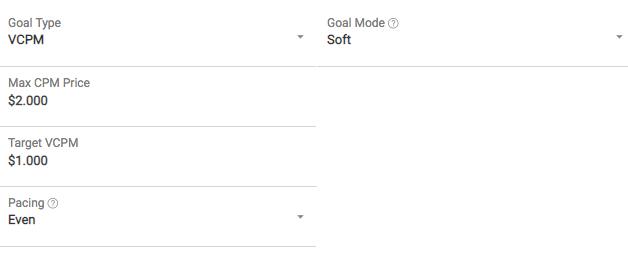 optimized VCPM goal