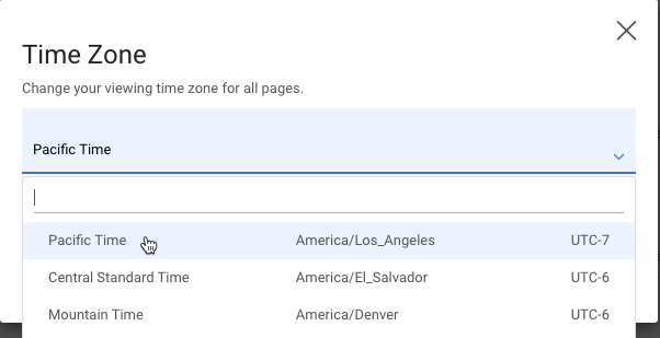 time-zone-drop-down-list