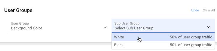 sub-user-group-drop-down-list