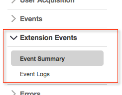 event extensions