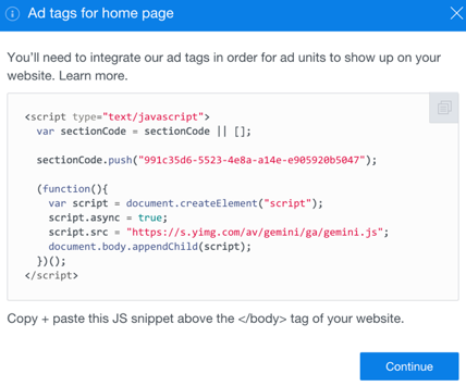 ad-tag-code-home-page