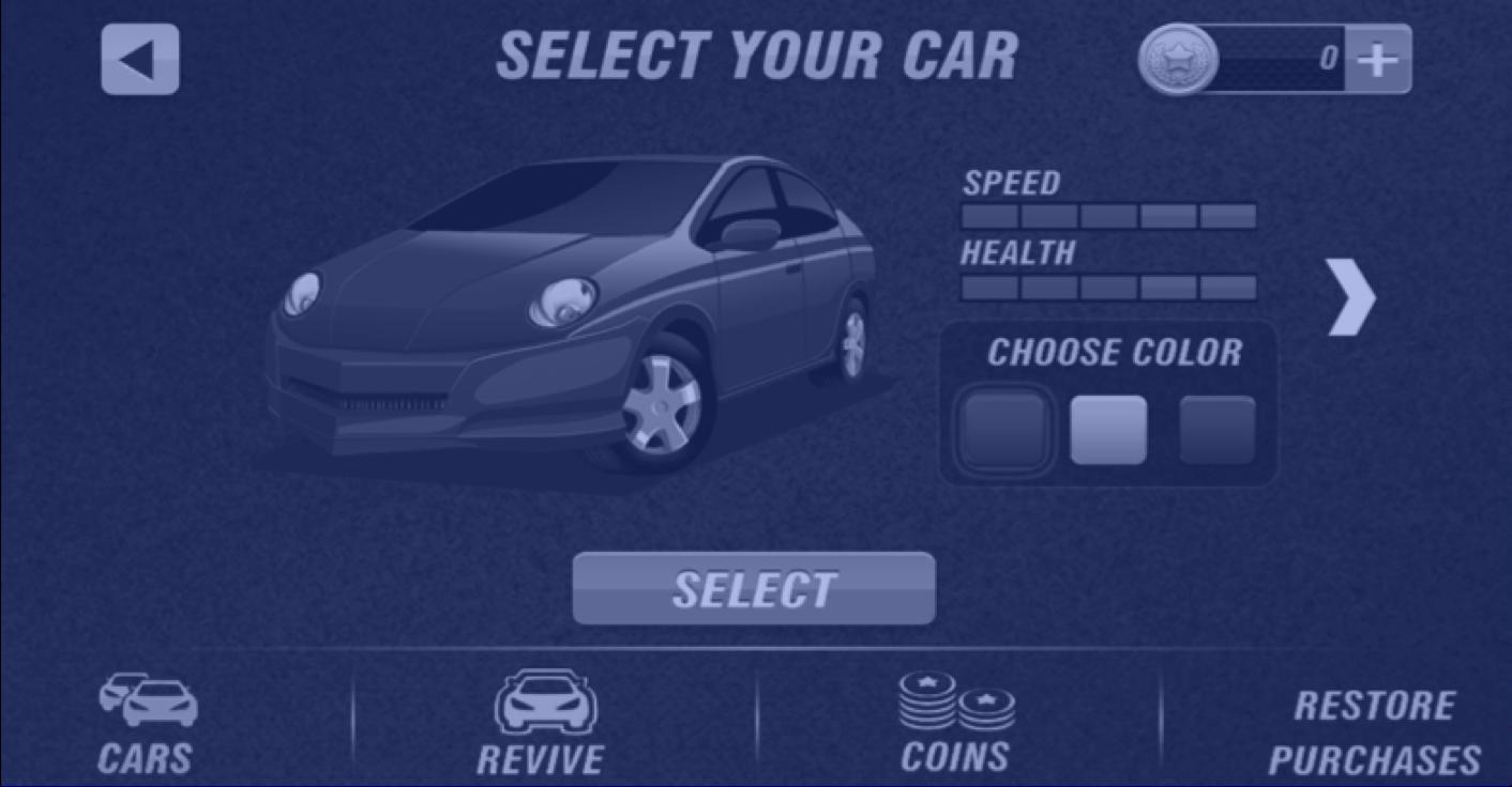 Selecting a car