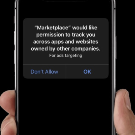 iOS14 Ad Targeting Permission Screen