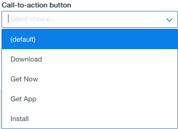 call to action options