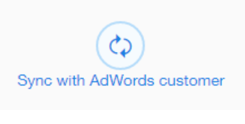 sync with adwords