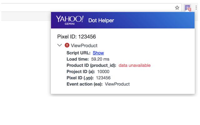 dot helper error