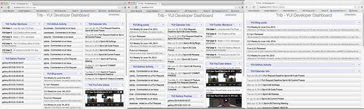Screenshot of 09 Handlebars template application.