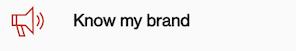 know my brand