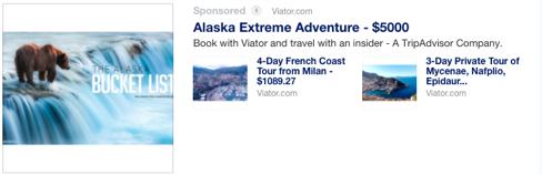 travel feed ad